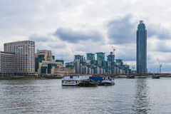 St George Wharf, London, UK Royalty Free Stock Images