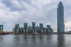 St George Wharf, London, UK Royalty Free Stock Photos