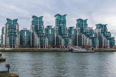 St George Wharf, Londres, R-U Image libre de droits