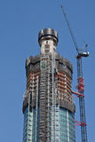 St George Wharf Tower Under Construction Royalty Free Stock Photo