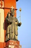 St George ' s-Basilika, Prag-Schloss Lizenzfreies Stockbild