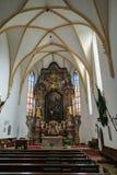ST GEORGEN,上奥地利/AUSTRIA - 9月18日:内部竞争 图库摄影