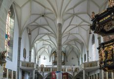 ST GEORGEN,上奥地利/AUSTRIA - 9月18日:内部竞争 免版税库存图片