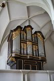 ST GEORGEN, AUSTRIA SEPTENTRIONAL /AUSTRIA - 18 DE SEPTIEMBRE: Órgano en fotos de archivo
