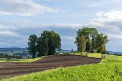 ST GEORGEN, AUSTRIA SEPTENTRIONAL /AUSTRIA - 15 DE SEPTIEMBRE: Calvary Chur fotos de archivo