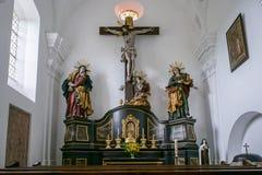 ST GEORGEN, AUSTRIA SEPTENTRIONAL /AUSTRIA - 18 DE SEPTIEMBRE: El interior compite imagen de archivo libre de regalías
