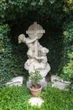 ST GEORGEN, AUSTRIA SEPTENTRIONAL /AUSTRIA - 18 DE SEPTIEMBRE: Lápida mortuaria a foto de archivo