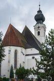 ST GEORGEN, BOVEN-OOSTENRIJK /AUSTRIA - 18 SEPTEMBER: De buitenkant wedijvert royalty-vrije stock foto's