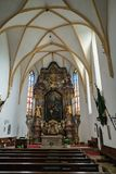 St GEORGEN, HAUTE-AUTRICHE /AUSTRIA - 18 SEPTEMBRE : L'intérieur luttent photographie stock