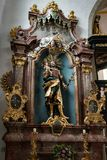ST GEORGEN, UPPER AUSTRIA /AUSTRIA - 18 DE SETEMBRO: O interior Vie Imagens de Stock Royalty Free