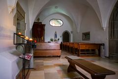 ST GEORGEN, UPPER AUSTRIA /AUSTRIA - 18 DE SETEMBRO: O interior Vie Fotografia de Stock Royalty Free