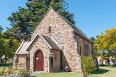 St Georges Anglican Church dans Knysna images stock