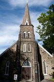 St Georges Church - Sydney - Nova Scotia royalty-vrije stock foto's