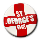 St Georges Day. Badge / icon /avatar Stock Image