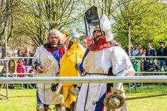 St Georges day celebration at  Vauxhall Pleasure Gardens Royalty Free Stock Photo