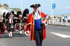 St.Georges de Parade van de Dag, Hastings Royalty-vrije Stock Fotografie