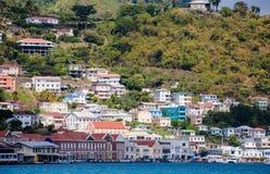St Georges, Grenada Arkivbild