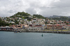 St. Georges Grenada. Stock Photography