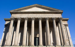 St georges hall. Side view of st georges hall in liverpool Royalty Free Stock Photography