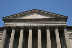St Georges Hall. Liverpool showing classic architecture Stock Images