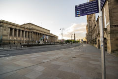 St Georges Hall Liverpool Stock Afbeelding