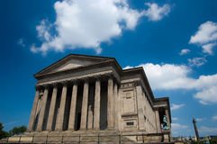 St Georges Hall in liverpool, England royalty free stock photo