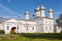 St. Georges Monastery in Novgorod, Russia Stock Photo