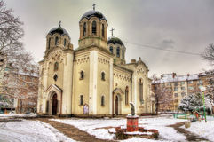 St. Georgi Pobedonosets Church in Sofia Stock Photos