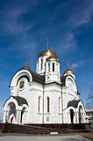 St. georgy cathedral. St. Georgy (victorious) cathedral at the Samarskay square Royalty Free Stock Images