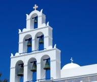St Gerasimos Church Fira, Santorini, Greece Stock Photography