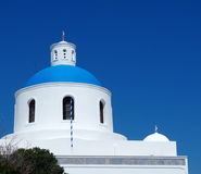 St Gerasimos Church Fira, Santorini, Greece Stock Image