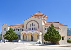 St. Gerasimos Monastery Royalty Free Stock Photography