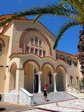 St Gerasismos Church, Cephalonia, Greece Stock Photo