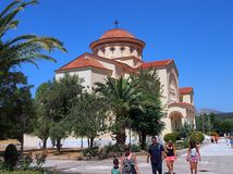 St Gerasismos Church, Cephalonia, Greece Stock Image