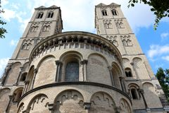 St Gereon Church, Colonia, Germania Fotografia Stock