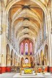 St Germain dell'interno l chiesa di Auxerrois del `, vicino al Louvre const del ` s Immagini Stock Libere da Diritti