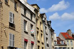 St Germain en Laye, Frankrike - kan 2 2016: pittoresk stadsce arkivfoton