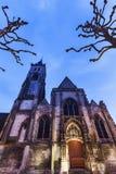 St Germain kyrka i Amiens Arkivbild