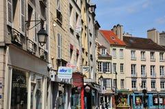 St- Germainen Laye, Frankreich - kann 2 2016: malerisches Stadtcer stockbild