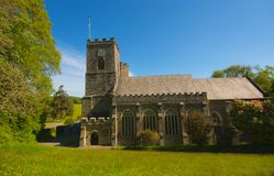 St Germans Priory. St Germanus, a Grade 1 listed Norman priory church, was built in the early 1200s as partof an Augustinian Priory on the site of the county royalty free stock photo