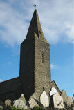 St. Germanus教会康沃尔郡 库存照片