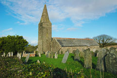 St. Germanus Church Cornwall Stockbilder