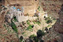 St. Geroge Monastery in the Judean Desert royalty free stock photos