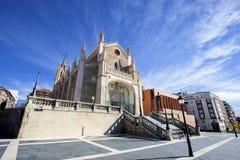 St Geromimo la iglesia real, Madrid, España imagenes de archivo