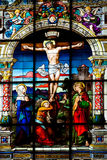 St Gertrude s kościół w Gamla Stan Zdjęcia Stock