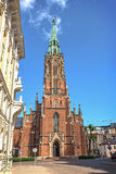 St Gertrude Stary kościół, Ryski Obrazy Royalty Free