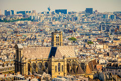 St-Gervais-et-St-Protais церковь, Париж Стоковая Фотография RF