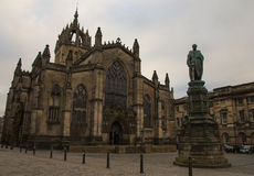 St Gile`s Cathedral, Edinburgh Royalty Free Stock Image
