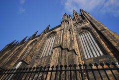 St Giles大教堂,爱丁堡,苏格兰 库存图片