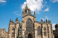 St Giles Cathedral à Edimbourg images stock